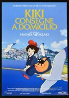 Werbeplakat Kiki Rückläufer A Hause Hayao Miyazaki Animation Karton Film P17