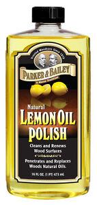Parker & Bailey Lemon Oil - 16oz