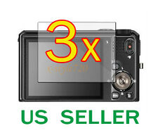 3x Nikon Coolpix S9100 LCD Screen Protector Guard Film