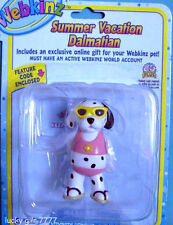 NIP Webkinz Summer Vacation DALMATION Figure w/ code 4 Online Play FREE SHIPPING