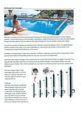 Heat exchanger 316 Stainless steel tube heat exchanger  600000 Btu.