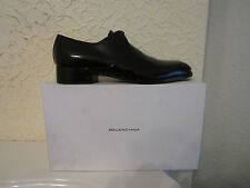 Balenciaga Black Patent Leather Derby Shoes
