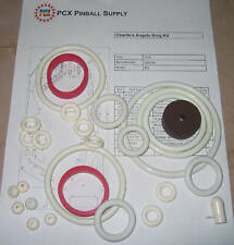 1978 Gottlieb Charlie's Angels Pinball Rubber Ring Kit
