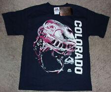MAJESTIC Colorado Avalanche Hockey Odd Man Rush Kids / Youth T-Shirt Size SMALL