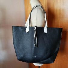 Große Damenhandtasche von Gerry Weber, 48x33 cm, schwarz / weiss, top Zustand