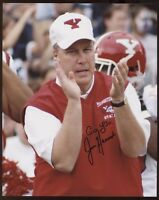 Jon Heacock Signed 8x10 Photo College NCAA Football Coach Autograph Youngstown