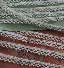 New listing Super Tiny antique picoted Crochet edging 5+ yards narrow dolls