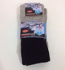 MB55 BY EXCELL WOMEN'S THERMALSPORT EXTREME WEATHER SOCKS BLACK/MARL SZ 9-11 NWT