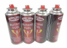 Gasone Butane Fuel Canister 8oz Portable Stove Burner Torch 4Pack Cartridge
