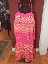 Gap Kids Girls Sz. 14-16 XXL  Strap Spring To Summer Knit Dress Crochet Trim NWT