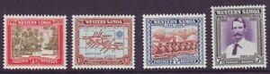 Samoa 1939 SC 181-184 MH Set Robert Louis Stevenson