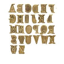Wood Burning Pyrography Alphabet Numbers Symbols Stamps Personalization Set Kit