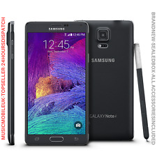 NUOVO SAMSUNG GALAXY NOTE 4 SM-N910F Nero Smartphone Android Sbloccato 32GB UK