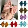 Baby Girls Elastic Headband Kids Bows Hair Band Headwear Hair Accessories Gift