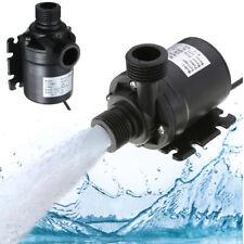 DC 12V-24V Hot Water Circulation Garden Solar Water Pump Brushless Motor 800L/H