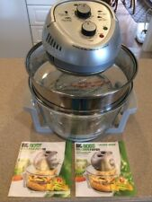 Big Boss Oil-Less Fryer 8605 1300-Watt Counter Top Convection Oven EXCELLENT
