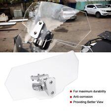 Universal Moto Parabrezza Deflettore Regolabile Per Kawasaki Honda KTM -SU.