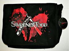 Vtg Sweeney Todd Fleet Street Babers Razor Shoulder Messenger Bag New NOS 2007