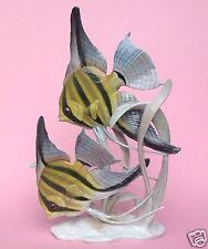 Große Rosenthal Porzellanfigur Fisch Scalar Skalar Gruppe Fritz Heidenreich~1937