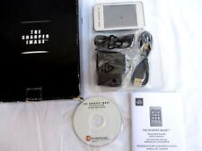 THE SHARPER IMAGE..TOUCH MP4 PLAYER..F3428971..COMPLETE..NEW IN BOX