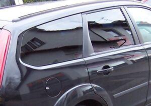 Tönungsfolie passgenau tiefschwarz 95/% Renault Clio 3 Grandtour Kombi 2008-2012