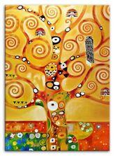 Gustav Klimt Gemälde Bild Bilder Handarbeit Kunst Abstrakt Ölbild Malerei 15117