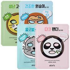 SKIN79 Animal Facial Mask Sheet Face Skin Care Cat Monkey Mouse Panda Pack 23ml
