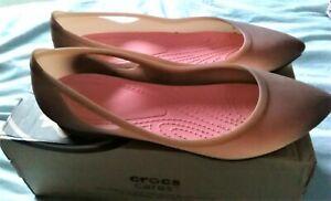 Crocs Rio Pointed Shoes Wide fit Size UK 7 EU 40 US 9