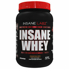 INSANE LABZ - 2LBS WHEY PROTEIN - MUSCLE BUILDING PROTEIN - 4 FLAVORS