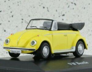 VW Volkswagen Käfer / Beetle - yellow - Cararama 1:72