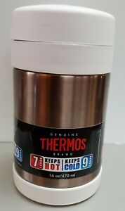 Thermos 16 oz. Genuine Thermos Brand. Vacuum Insulated. Hot and Cold