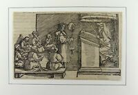 Hans Weiditz 1495-1537 - THE SCHOOL - Master Woodcut - FIRST EDITION 1532