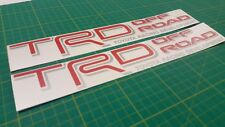 Toyota Land Cruiser Hilux N170 N160 TRD Off Road decals stickers graphics 4x4