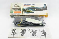 "VERY RARE Hawk Grumman Bearcat F8F-2 Plastic Model Kit 1/4"" Scale 1967 VINTAGE"