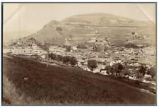 France, Le Puy en Velay, Vue générale  Vintage albumen print. Tirage albuminé