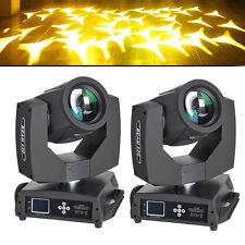 7R 230w Beam DMX 512 16CH Stage Moving Head Light Zoom Gobo DJ Lighting 2pcs