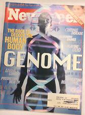 Newsweek Magazine Decode The Human Body April 10, 2000 062717nonr