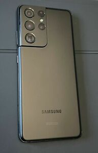 Samsung Galaxy S21 Ultra 5G (Unlocked)  SM-G998U1 16GB 512GB Phantom Black