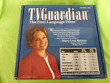 Vintage Tv Guardian Foul Language Profanity Filter Model 301 as pictured