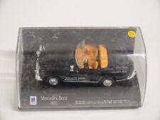 24 ) NewRay - Mercedes Benz MB 300 SL Roadster Cabrio schwarz 1:43 - in OVP