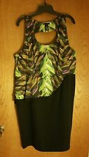 Lane Bryant Peplum dress size 18