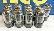 Lot of 9 Ex to NOS Test (Gm) Mixed Brands 6V6GTA Beam Power Tubes (442)
