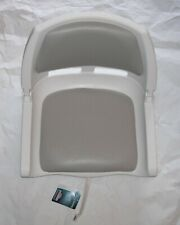NEW Springfield Marine Fold Down Bass Boat Seat Chair With Cushion