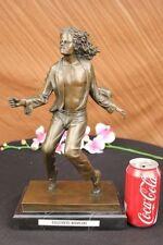 Statue, sculpture du XXe siècle et contemporaines en bronze personnage