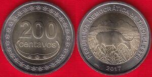 Timor - Leste 200 centavos 2017 BiMetallic UNC