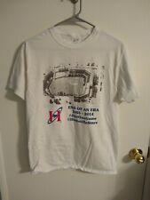 Huntsville Stars End of an Era 1985-2014 Men's White T-Shirt M Medium Minors