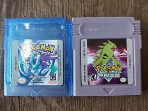 Pokemon Gameboy Color Spiele Kristall und Prism