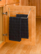 Kitchen Storage Towel Holder Bar Under Sink In Cabinet Organizer Door Mount Rack & Rev-A-Shelf Kitchen Towel Racks | eBay