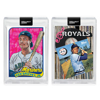2-Card Bundle Topps PROJECT 2020 Cards 211-212 Ken Griffey Jr. George Brett PREO