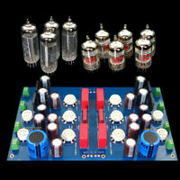 DIY 12AX7 ECC83 Tube Preamplifier Preamp Independent L/R Channel JP200 PCB board